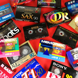 Branded Audio Cassettes