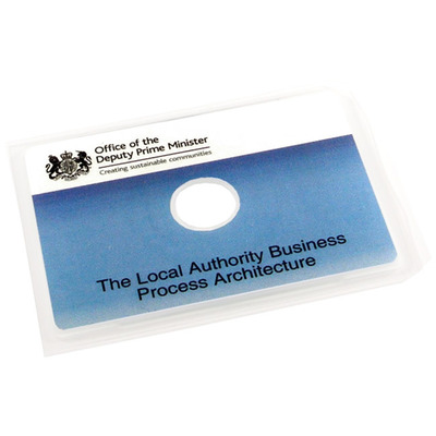 Business card cddvds packaging options retro style media clear plastic wallets for business card cddvds colourmoves