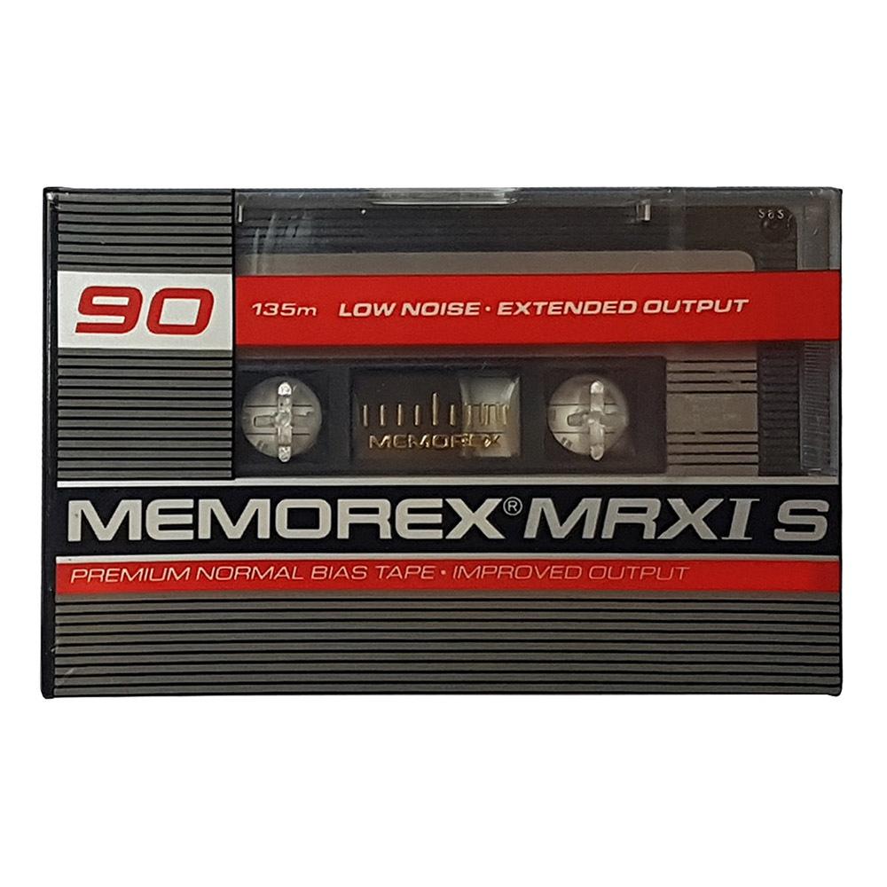 Memorex Mrxi S 90 Ferric Blank Audio Cassette Tapes