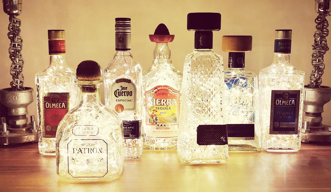 Tequila Bottle Lights: Retro Style Media