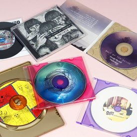 12cm CD and DVD packaging