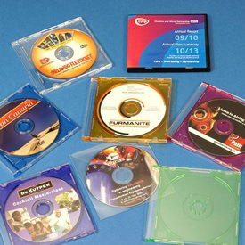 8cm CD and DVD packaging
