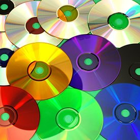 Coloured CDs